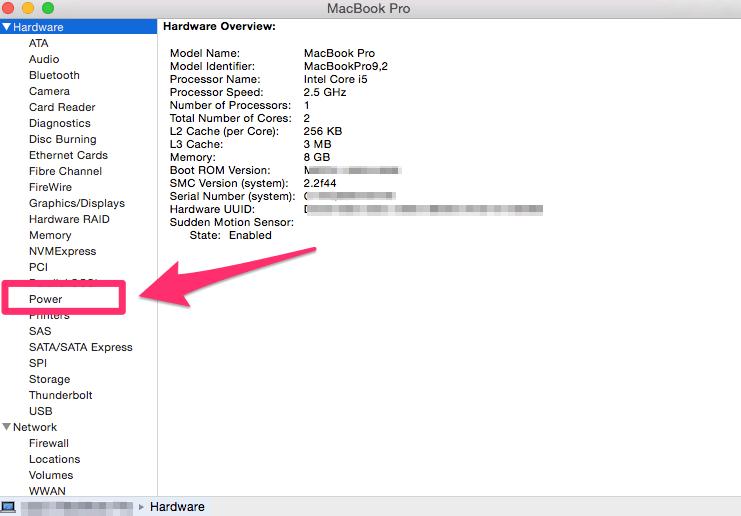 Problèmes de batterie MacBook