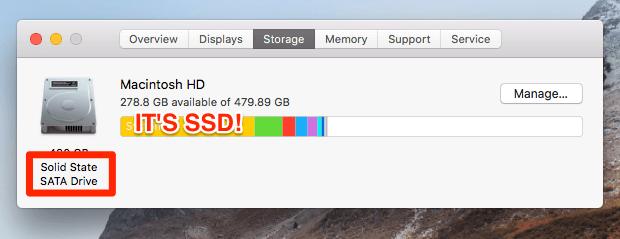 tester la vitesse du disque dur